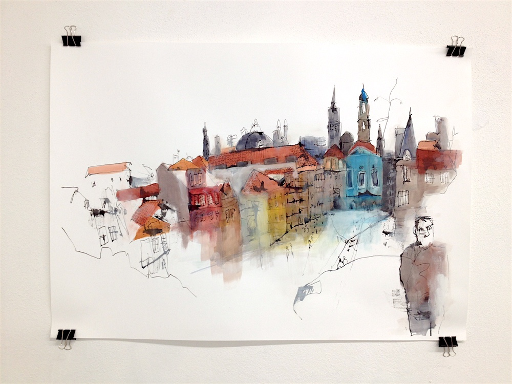drawing of Porto