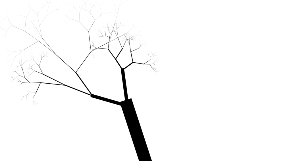 generated tree